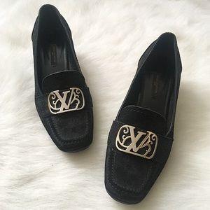 Louis Vuitton Juliet Heeled Loafers, EUR Size 37